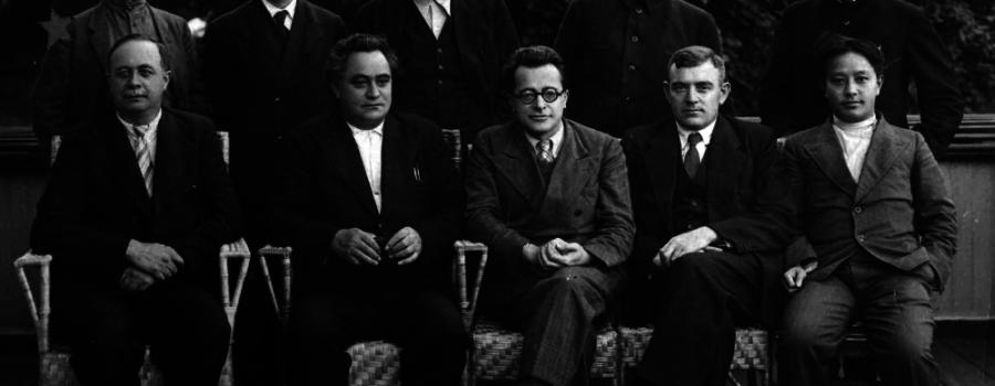 Секретариат исполкома Коминтерна в полном составе, 1935