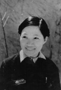 Мэн Циншу. Яньань, 1940 г., фото Р. Кармена