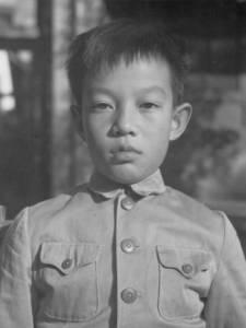 Ван Даньчжи детство